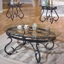 lola 3 piece coffee table set