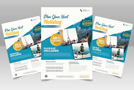 Travel Holiday Free Psd Flyer Template Free Psd Flyer