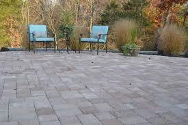 village concrete patio