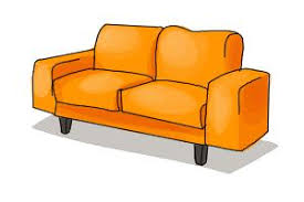 couch drawing. How To Draw A Sofa Couch Drawing