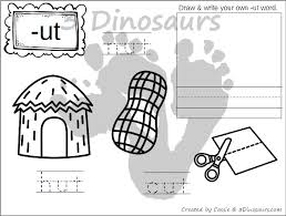 Word Family Coloring Pages New Cvc Word Family Coloring Pages Short U Vowel 3 Dinosaurs