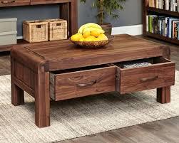 solid walnut coffee table with storage round uk