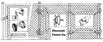 chain link fence rolling gate parts. Chain Link Fence Gate Hardware Parts Rolling  Kits Self Closing Chain Link Fence Rolling Gate Parts