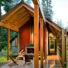 Small Picture Modern Cabin Design More Award Winning Homes Sunset