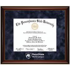 student book store wc penn state world campus diploma frame wc18 penn state world campus diploma frame