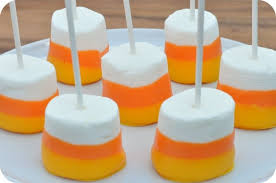 candy corn on the cob marshmallow. Simple Marshmallow Candy Corn Dipped Marshmallows Source Here On The Cob Marshmallow N