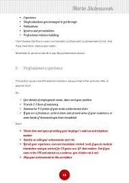 ... Wonderful Inspiration Resume Translation 9 How To Write A Translators Cv  ...