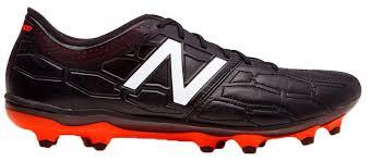 new balance boots. new balance visaro 2.0 pro k leather fg football boots - adult black/alpha