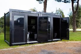 Portable Bathroom Toilets Bathrooms Portaloos Eco With Luxury - Luxury portable bathrooms