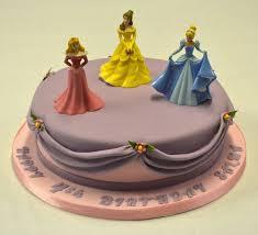 10 Round Disney Princess Cake Childrens Birthday Cakes