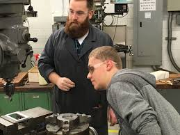 kentucky embraces idea that not everyone needs college newshour southern high school teacher matthew haynes helps a student craft a case for his smartphone photo by emmanuel felton hechinger report