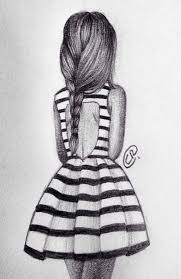 Drawn Fashion Designs For The Beach Hipster Girl Drawing Ideas