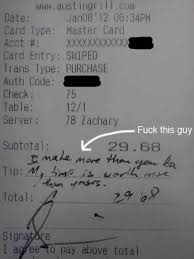 12 Absolutely Hilarious Receipt Tips (funny tips, waiter tips) - ODDEE