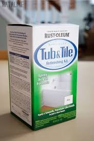 diy bathtub refinishing kit home depot. do i dare attack our 1970\u0027s tile job on bathroom? think do! rust-oleum paint for old or icky bathrooms. | diy projects pinterest rust, diy bathtub refinishing kit home depot