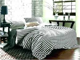 grey and white striped bedding this gray stripe works well with the storage bench because colors