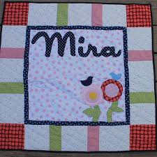 Applique | waterpenny quilts and little sewn things & Mira Baby Flower Name Quilt Adamdwight.com