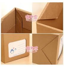 3pcs lot creative diy desktop file holder paper desk organizer box office books file sorting