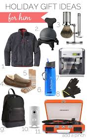 holiday gift ideas for him 2016 from addapinch