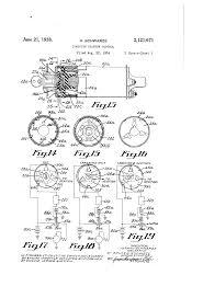 براءة الاختراع us2121671 ignition starter control براءات patent drawing
