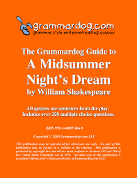 Midsummer Night\'s Dream Quotes Quiz Best Of A Midsummer Night's Dream By William Shakespeare Grammar Style