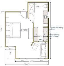 master bedroom with bathroom floor plans. Master Bedroom With Bathroom Floor Plans