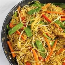 vegan singapore noodles recipe gluten
