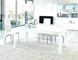 ghost chair dining room set best of modern white table contemporary chairs