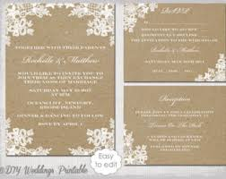 rustic wedding invitation templates watercolor olive Editable Wedding Invitation Templates Free rustic wedding invitation set diy \