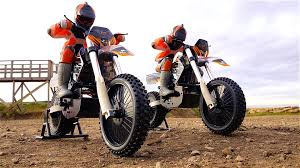 rc adventures dual 1 4 scale arx540 motocross bikes first run