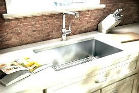 stainless steel kitchen sink tap hole cover sinks top mount home design resort under stainless steel undermount