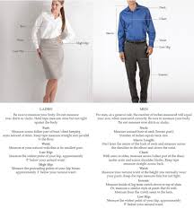 How To Choose Your Correct Size Waitstuff Uniforms