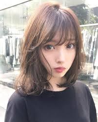 前髪特集面長さんに似合うヘアスタイルポイントはひし形 I See