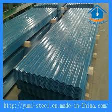 water waved corrugated steel galvanized metal roofing cladding sheet