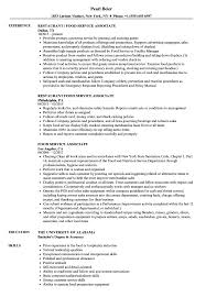 Customer Service Associate Resume Food Service Associate Resume Samples Velvet Jobs 11