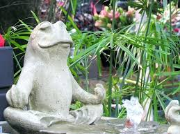 outdoor frog statues garden frog statue frog fountain in the garden center large garden frog statues