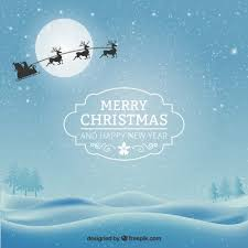 Christmas Card Images Free Snowy Christmas Card Vector Free Download