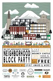 Block Party Flyer Block Party Flyer 11 X 17 Chs Capitol Hill Seattle