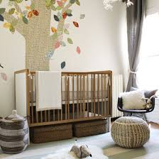 Image Room Natural Baby Nursery With Neutral Color Scheme And Nature Theme The Spruce Green Baby Tips For Creating More Natural Nursery