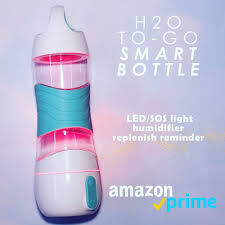 Water Bottle Reminder Light Let Our Bpa Free Bottle Light The Way On Your Next Camping