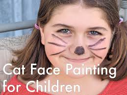 gracious tutorials holidappy cat face painting plus tips and tips in cat face painting with tutorials