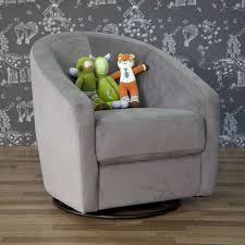 babyletto madison swivel glider in slate free shipping