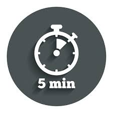 5 Min Timer With Music 5 Minute Countdown 5 Minutes Stock Footage Royalty Free Stock