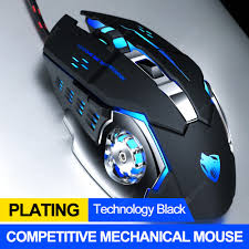 Pro Gamer Gaming Mouse 8D 3200DPI Adjustable Wired Optical ...