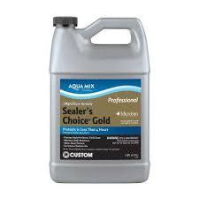 aqua mix sealer s choice gold 1 gal penetrating sealer