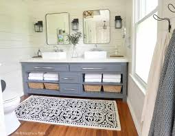 Modern farmhouse bathroom remodel ideas Farmhouse Style Modern Farmhouse Master Bathroom Remodel Bedroom Is Turned Into An En Suite Bathroom On Simplicity In The South The Modern Farmhouse Master Bathroom Reveal