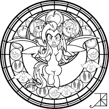 Sg Flutterbat Coloring Page By Akili