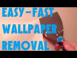 easiest fastest way to remove wallpaper