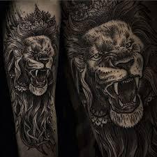 фото татуировки льва