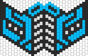 Kandi Mask Patterns