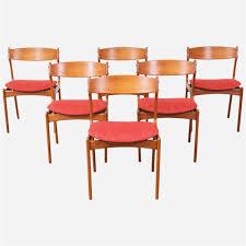 teak dining chair in 2019 mid century modern kitchen table fresh erik buck 49 teak dining